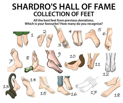 Hall of Fame - Feet by Shardro