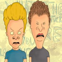 Beavis and Butt head by p1xeleye