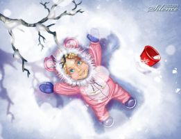 Snow angel by Tashati
