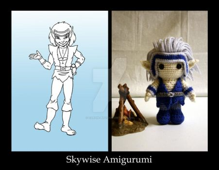 Amigurumi Skywise by car2in-bitz