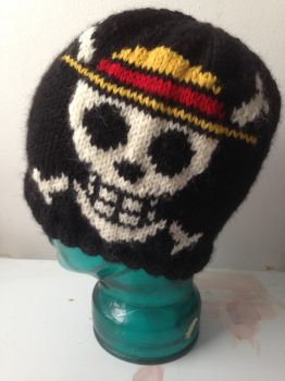 One Piece Jolly Roger Hat by holls