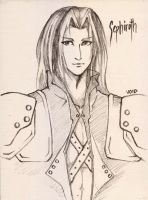 All Hail Sephiroth by BunnyVoid