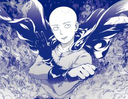 One Punch Man by Kaze-Hime