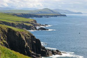 Cliffs of Ireland by parallel-pam