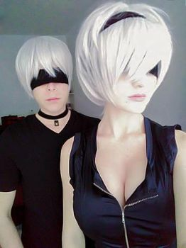 Nier Automata:  9S x 2B by Smexy-Boy