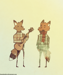 Fleet Foxes by FoxInShadow