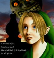 Majora's Mask: A boy... by raiyneofgailin