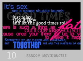 020: Big Movie Quotes by Lexana