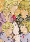 Family, love and rose by YuriOokino