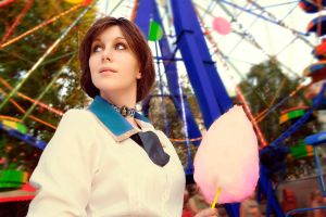 Bioshock Infinite Cosplay Elizabeth by Jane-Po