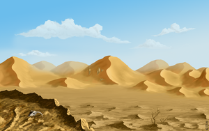 Distant Dunes by Glaiceana