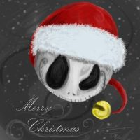 .:Skeletal Santa:. by trisis