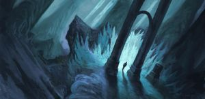 Light Filled Cavern by ZacharyMcLean