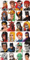 Great Sketch Card Swap 2010 by SeanRM