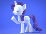 [Blender] The Singing Fashionista by MelodiousMarci