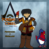 Pokemon Creed: Petruccio Auditore and Swellow by Asoq