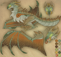 CE: Mantis wyvern by Panoptos