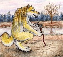 A Gift for Goldenwolf by autumnjaguar