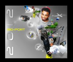 My Bio-Port Book cover (My World) by GCORP1