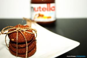 Nutella Cookies Revisited 4 by munchinees
