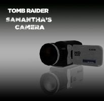 TOMBRAIDER: Samantha's camera by doppelstuff