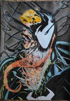 Venom/Edward Brock by LeraRemarque