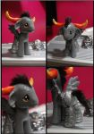 Custom Tavros Pony by CowSprite