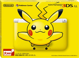The Nintendo 3DS XL Pikachu Yellow Edition. by PokemonOnlineGames