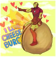 Ironman-cheese burger II by koenta