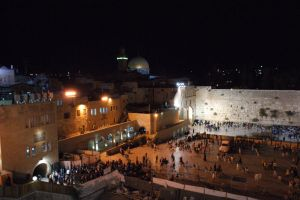 western wall at night by picture-melanie