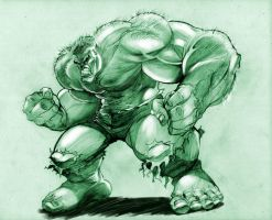 Hulk Smash! by rgclayboy
