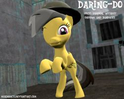 MLP: Daring-Do by MarineACU