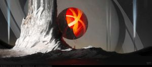 Red Balloon by Balaskas