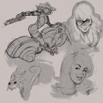 Sketches #1 by mullerpereira