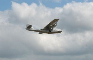 PBY 5A Catalina Flying by t-subgenius
