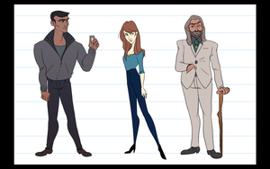 American Gods   Lineup by martinellie