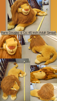 Douglas and Co. Adult Simba - FOR SALE by JellyPaws