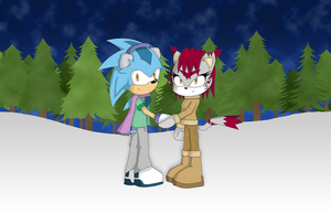 Christmas Together by fire-ice-n-lightning