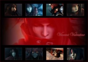 Vincent Valentine DoCWallpaper by Glytched