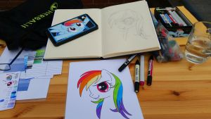 This is how I draw... by RutgerNL
