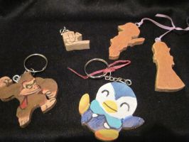 Keychain Collection I by MagicalMegumi