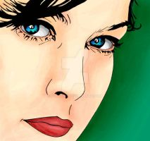 Liv Tyler colored by IvanaKC