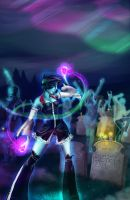 Dance on your grave by Elixia-Dragmire
