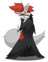 Shiny Delphox by SimpleDerk
