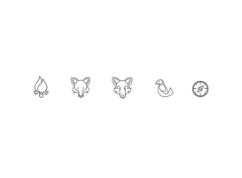 National Wildlife Perserve Icon Batch by TheOutli3R