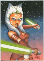 Ahsoka Tano Commission by Erik-Maell