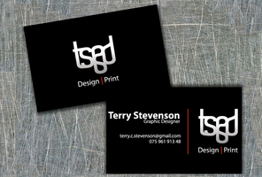 TSGD Business Card by st333vo