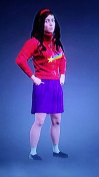 WWE 2k17 Mable Pines by MarkellBarnes360