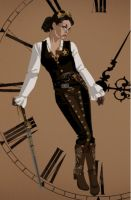 My Steampunk Concept Outfit by DraftHorseTrainer