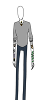 Hipster Slenderman by PlayButtonCrotch